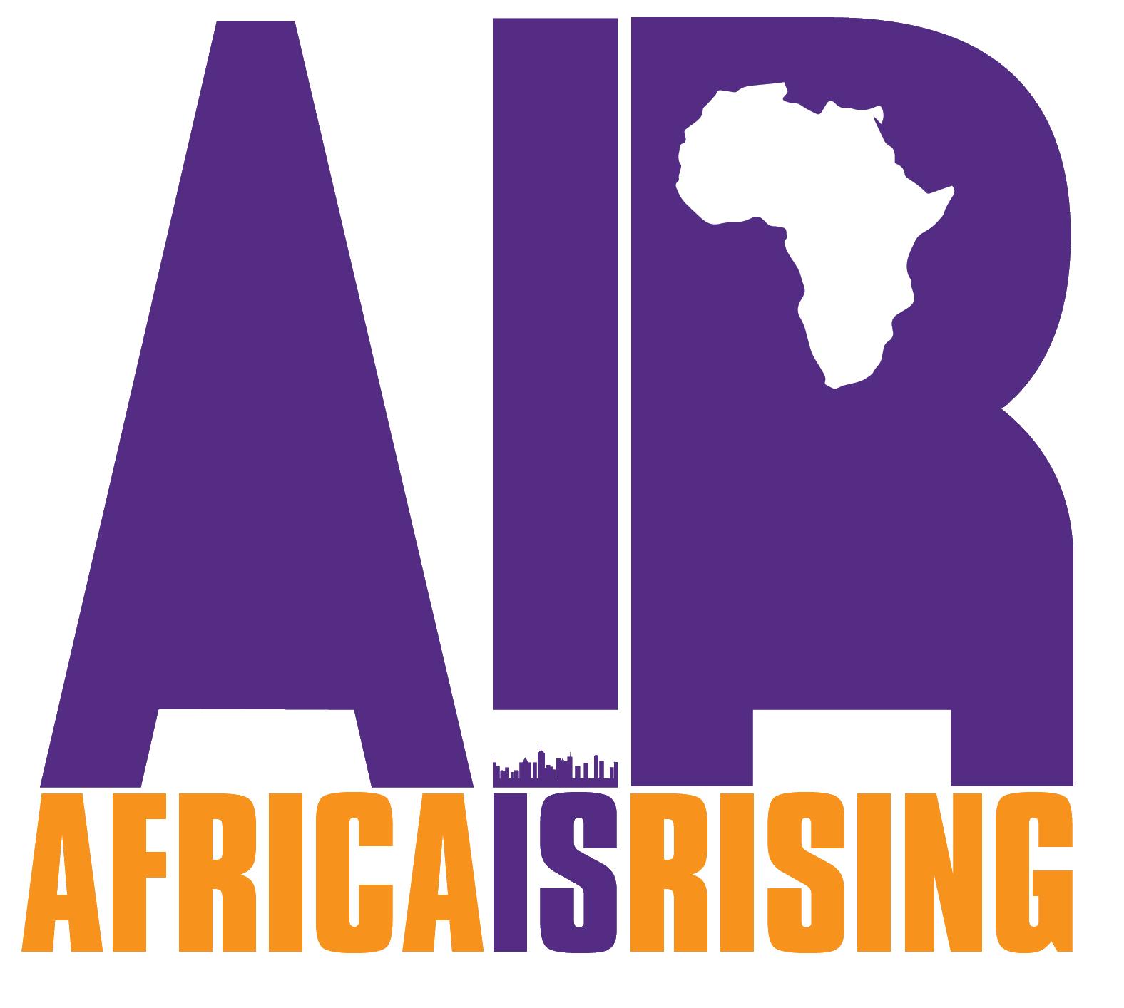 AFRICA RISING LOGO H